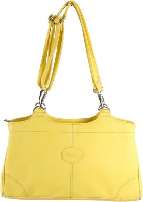 Dooda Casual Yellow  Clutch