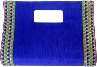 SATVAH Blue  Clutch