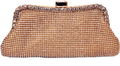 Tanishka Exports Girls Party Gold  Clutch