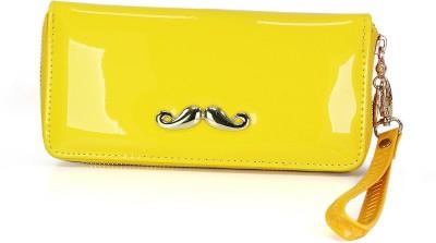 Fab Fashion Yellow  Clutch