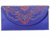 Slice Of Bengal Women Purple  Clutch