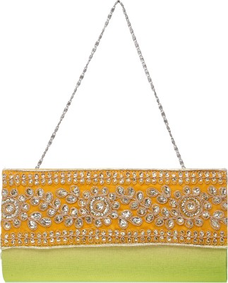 Flamboyance Wedding, Festive Yellow  Clutch