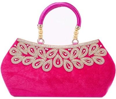 Kleio Girls, Women Casual, Festive, Formal, Party, Wedding Pink  Clutch