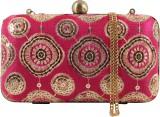 Uptown Women Pink  Clutch