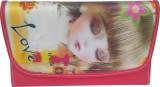Genpurs Women Red  Clutch
