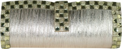 Glitter Collection Wedding, Party, Festive, Casual Silver  Clutch