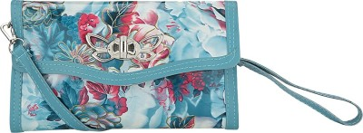Ambience Casual, Party, Festive Blue  Clutch