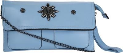 Jsart Casual Blue  Clutch