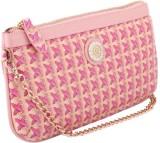 Priya Exports Women Pink  Clutch