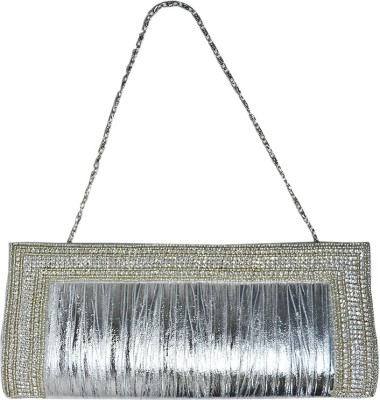 Hadwin Party Silver  Clutch