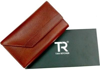 TAN RITCHER Brown  Clutch