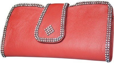 Stylogy Girls Casual Red  Clutch