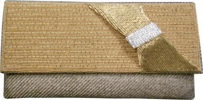 Balee Fashions Women Casual Gold  Clutch