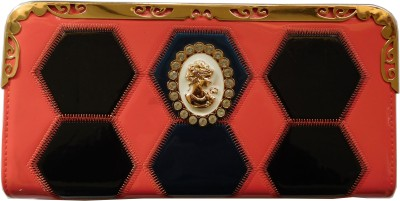 Reddish Multicolor  Clutch