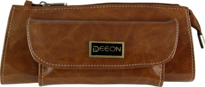 Deeon Women Formal Beige  Clutch