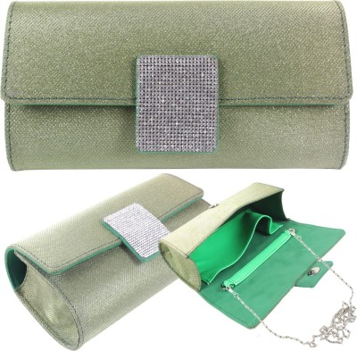 Dooda Party Green  Clutch