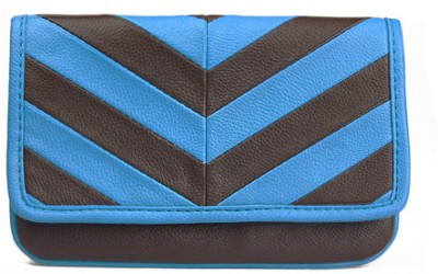 Bagsy Malone Women Casual Blue  Clutch