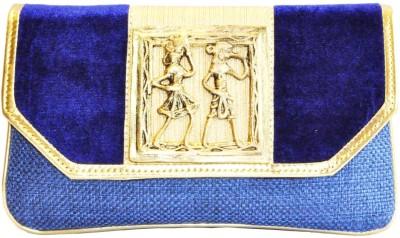 Women Trendz Women Festive Blue  Clutch