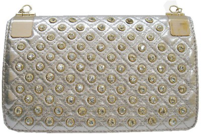 Russo Fashion Women Casual, Party Gold  Clutch