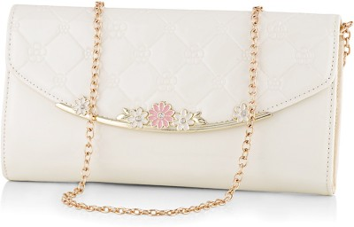 Eyeslanguage Party White  Clutch