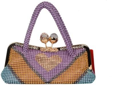 BH Wholesale Market Girls Casual Purple  Clutch
