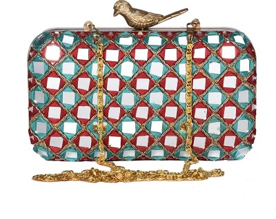 Uptown Laila Wedding, Party Multicolor  Clutch