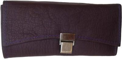 Goldeno Casual Purple  Clutch