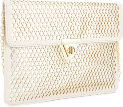 Carlton London Women Beige  Clutch