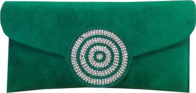 Angelfish Party Green  Clutch