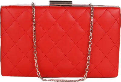 Lino Perros Party Red  Clutch
