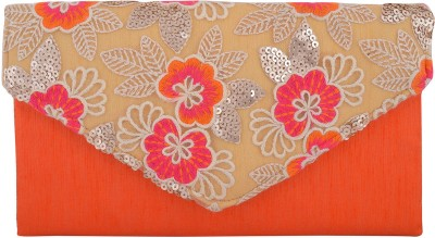 Arisha kreation Co Wedding Orange  Clutch