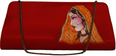 Fabulloso Women Casual, Party Red Clutch