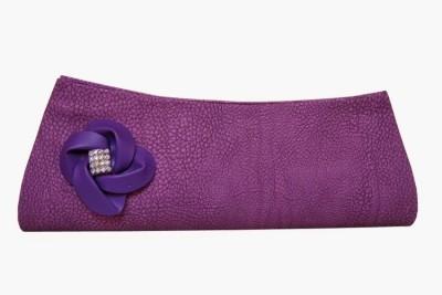 MTE Women Formal, Party Purple  Clutch