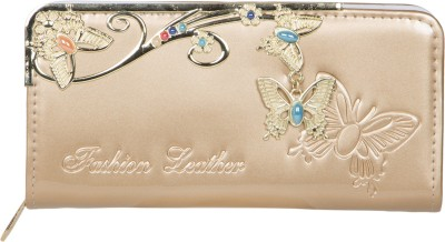 Fashion Leather Party Gold  Clutch