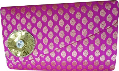 Balee Fashions Women Party Pink  Clutch