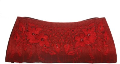 Soulful Threads Festive Red  Clutch