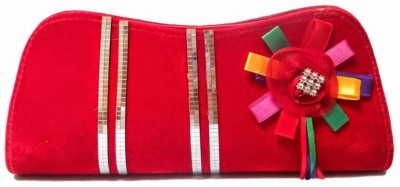 MTE Women Casual, Formal, Party Red  Clutch