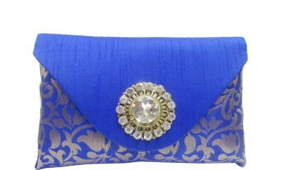 Balee Fashions Women Party Blue  Clutch