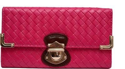 Tanishka Exports Pink  Clutch