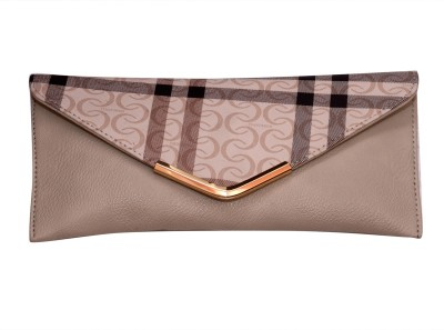 Prime Formal Beige  Clutch