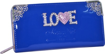 SK-Effects7 Casual Blue  Clutch