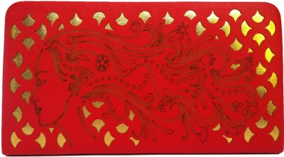 Ashley Party Red  Clutch