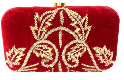 Luxury Living Party Red  Clutch