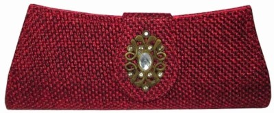 MTE Women Formal, Party Red  Clutch