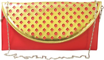 Lion Heart Party, Wedding Red  Clutch