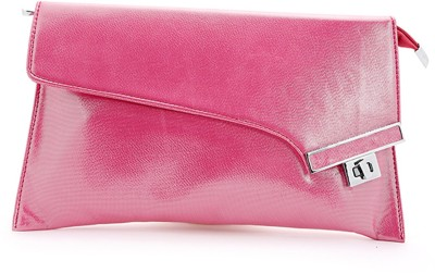 Elligator Women Party Pink  Clutch