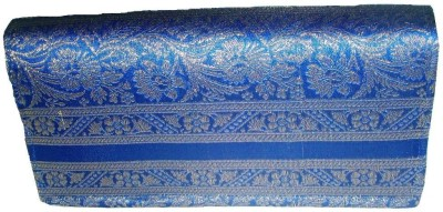 Indha Craft Women Casual Blue  Clutch
