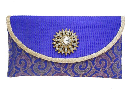 Dafter Luggage Party Blue  Clutch
