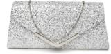 Dressberry Women Silver  Clutch