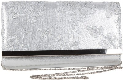 Reedra Festive Silver  Clutch